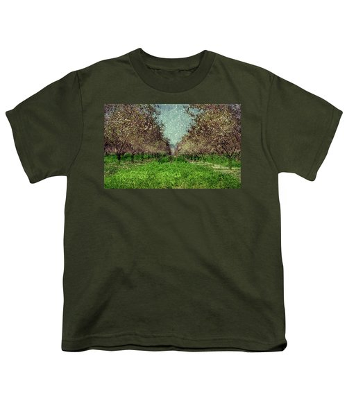 An Orchard In Blossom In The Eila Valley Youth T-Shirt