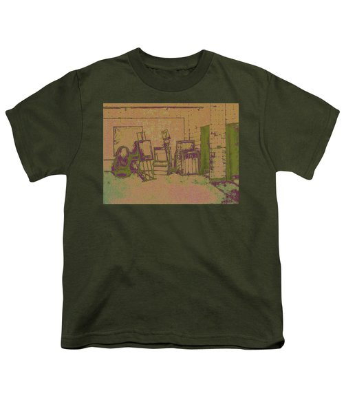 Art Intro Mixed Media Youth T-Shirt