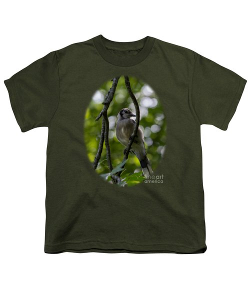 Afternoon Perch Youth T-Shirt by Brian Manfra
