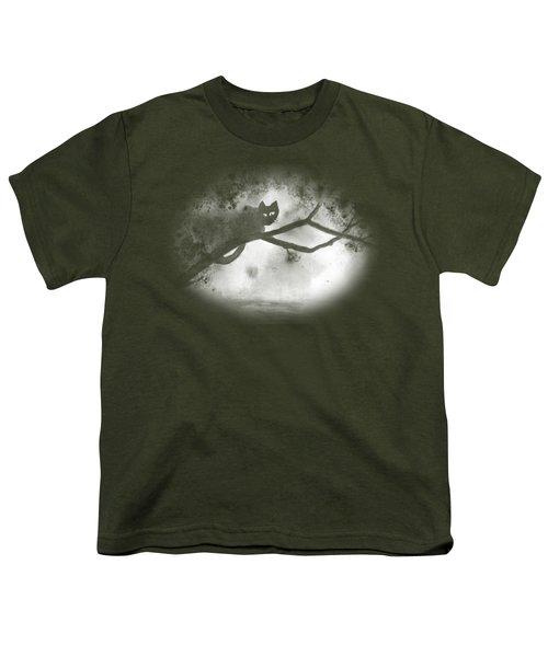 Chat Dans L'arbre Youth T-Shirt
