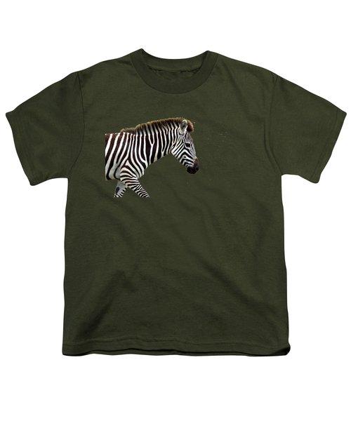 Zebra Youth T-Shirt