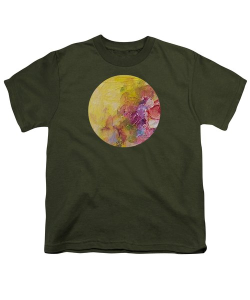 Floral Still Life Youth T-Shirt by Mary Wolf