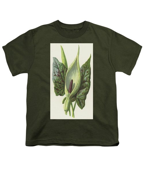 Arum, Cuckoo Pint Youth T-Shirt