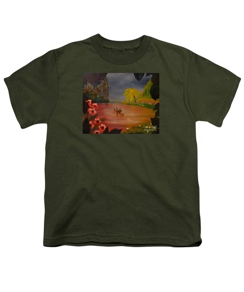 Asian Lillies Youth T-Shirt
