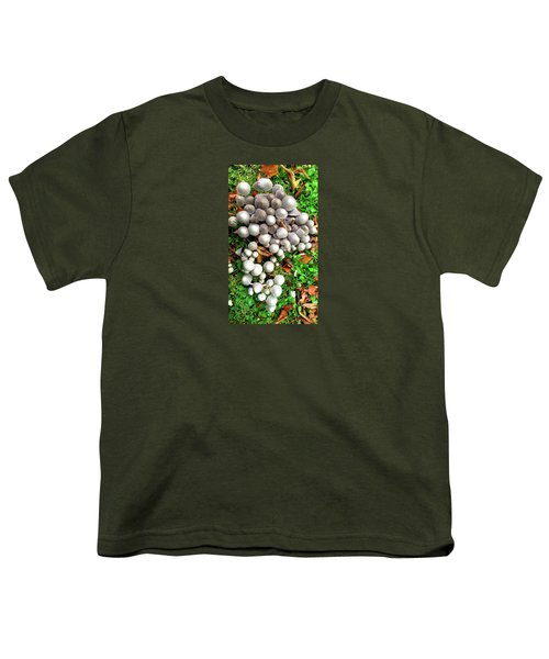Autumn Mushrooms Youth T-Shirt