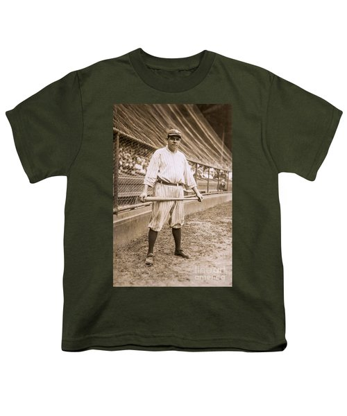 Babe Ruth On Deck Youth T-Shirt