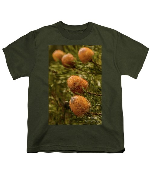 Youth T-Shirt featuring the photograph Banksia by Werner Padarin