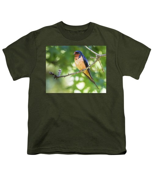 Barn Swallow  Youth T-Shirt
