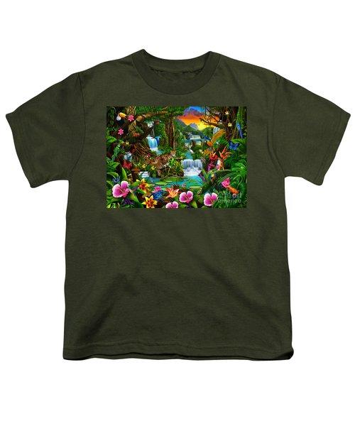 Beautiful Rainforest Youth T-Shirt