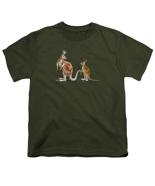 Being Tailed Wordless Youth T-Shirt by Rob Snow