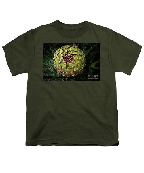 Big Fat Green Artichoke Youth T-Shirt