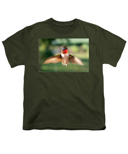 Boastful  Youth T-Shirt by Bill Pevlor