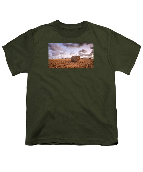 Bundy Hay Bales #3 Youth T-Shirt
