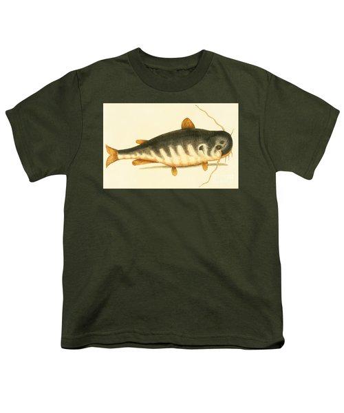 Catfish Youth T-Shirt by Mark Catesby