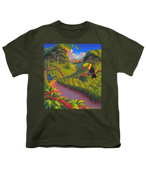 Coffee Plantation Youth T-Shirt