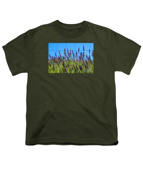 Country Lavender Vii Youth T-Shirt