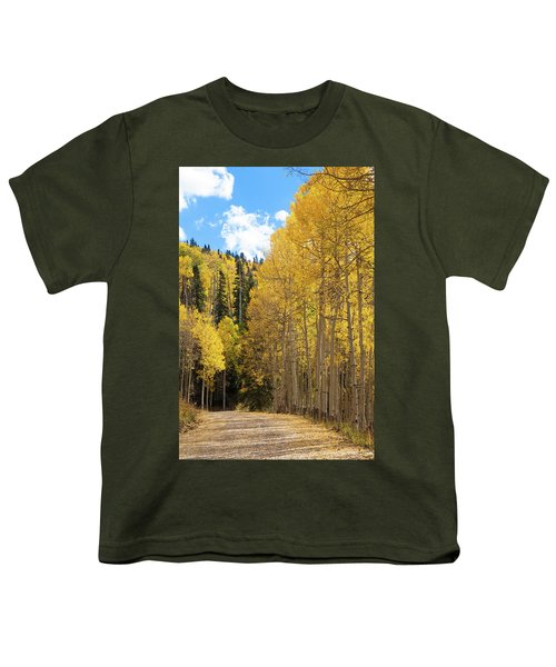 Youth T-Shirt featuring the photograph Country Roads by David Chandler