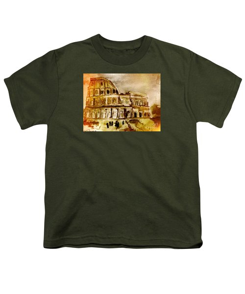 Crazy Colosseum Youth T-Shirt