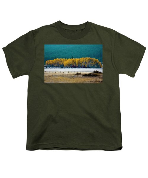 Crisp Aspen Morning Youth T-Shirt