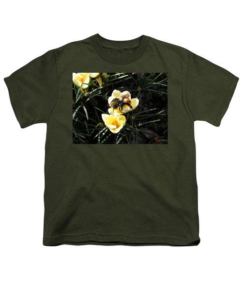 Crocus Gold Youth T-Shirt
