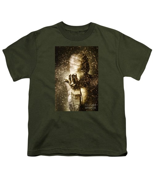 Curse Of The Mummy Youth T-Shirt by Jorgo Photography - Wall Art Gallery