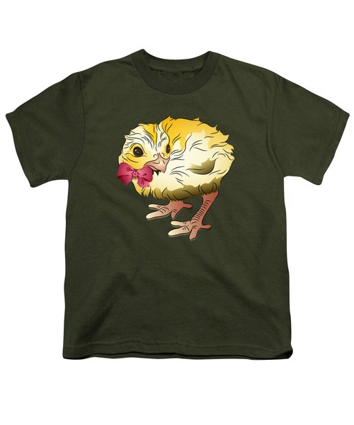 Cute Chick Youth T-Shirt
