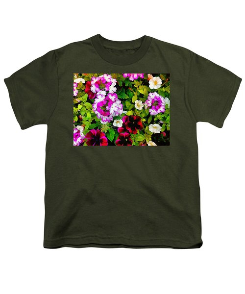 Delicious Floral Foray Youth T-Shirt