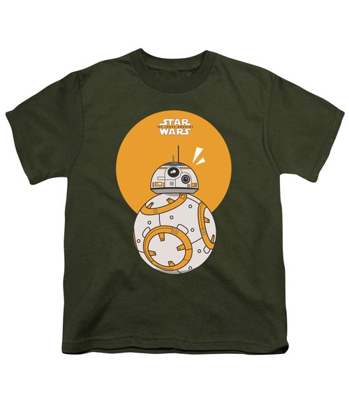 Dotted Starwars Youth T-Shirt by Mentari Surya