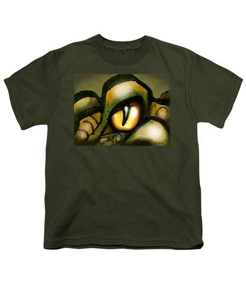 Dragon Eye Youth T-Shirt by Kevin Middleton