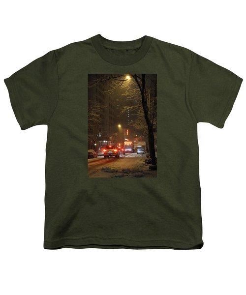 E 38th Street Between Lexington And 3rd Avenue Manhattan New York Youth T-Shirt