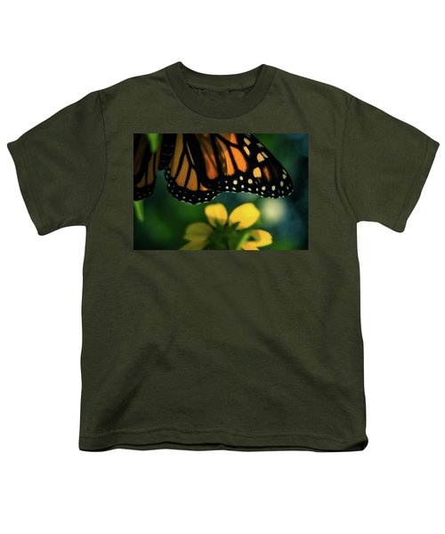 End Of Summer Monarch Youth T-Shirt