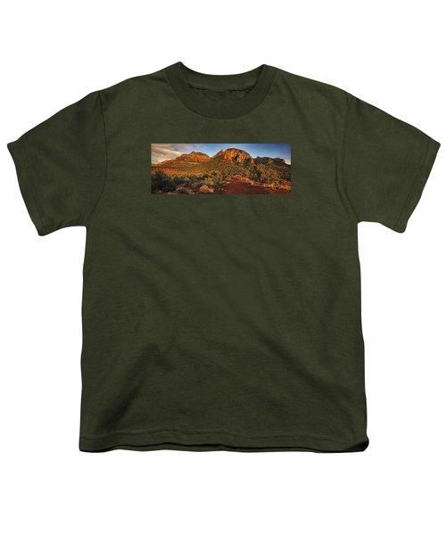 Evening At Dry Creek Vista Txt Youth T-Shirt