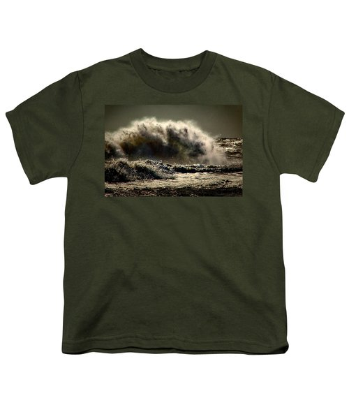 Explosion In The Ocean Youth T-Shirt