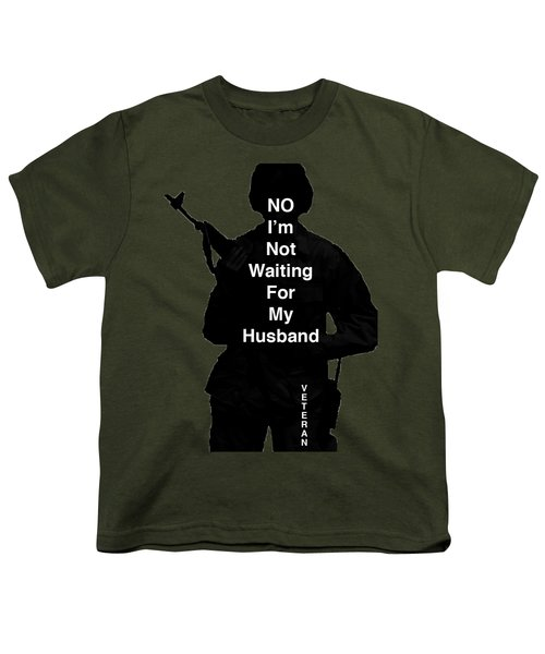 Female Veteran Youth T-Shirt by Melany Sarafis