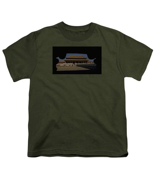 Forbidden City, Beijing Youth T-Shirt by Travel Pics