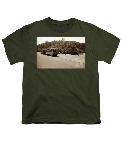 Fort Tryon Trolley Youth T-Shirt