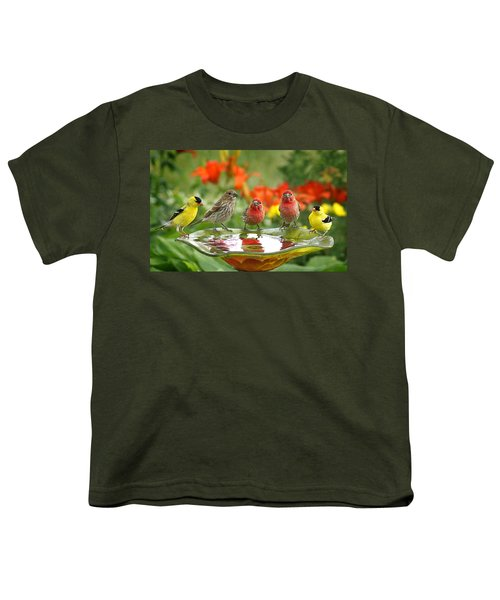 Garden Party Youth T-Shirt by Bill Pevlor