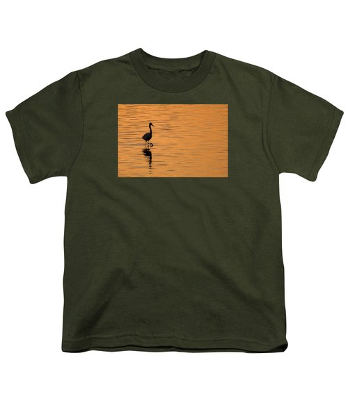 Golden Egret Youth T-Shirt