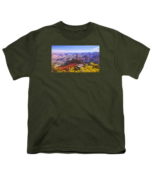 Grand Arizona Youth T-Shirt by Chad Dutson