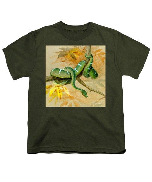 Green Boa Youth T-Shirt