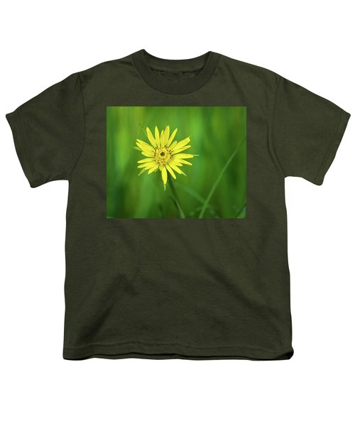 Youth T-Shirt featuring the photograph Hello Wild Yellow by Bill Pevlor