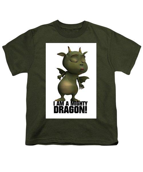 I Am A Mighty Dragon Youth T-Shirt