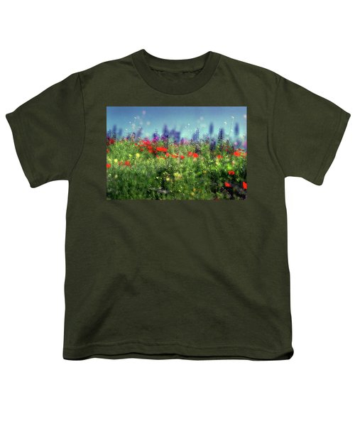 Impressionistic Springtime Youth T-Shirt