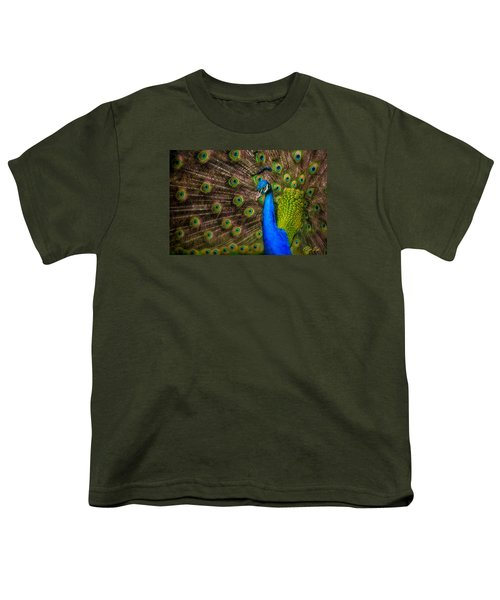 Youth T-Shirt featuring the photograph India Blue by Rikk Flohr