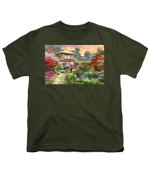 Japan Garden Variant 2 Youth T-Shirt