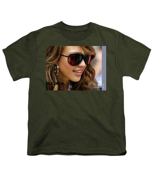Jessica Alba, Cool Shades Youth T-Shirt