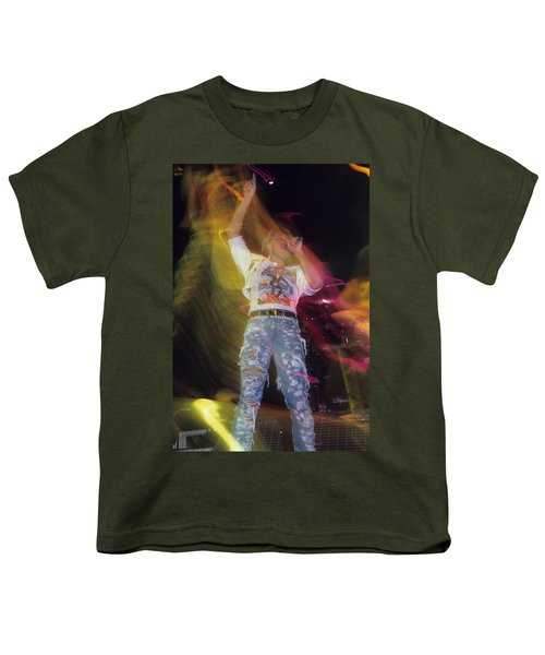 Joe Elliott Youth T-Shirt by Rich Fuscia