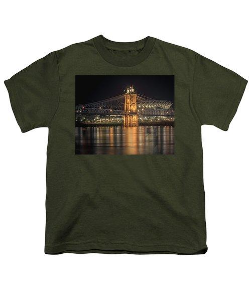 John A. Roebling Suspension Bridge Youth T-Shirt