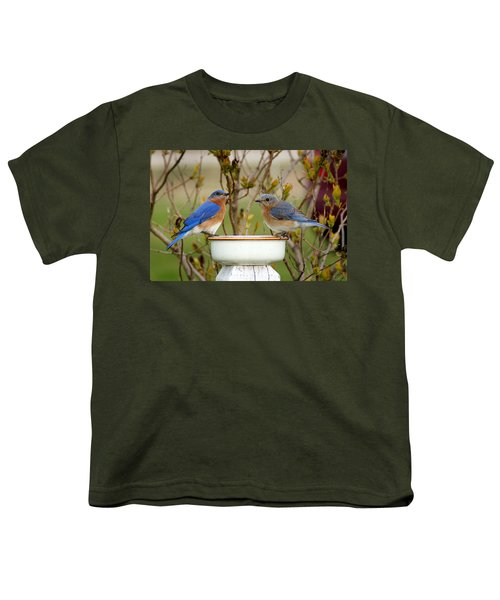 Just The Two Of Us Youth T-Shirt by Bill Pevlor