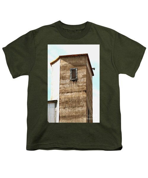 Youth T-Shirt featuring the photograph Kingscote Dungeon by Stephen Mitchell